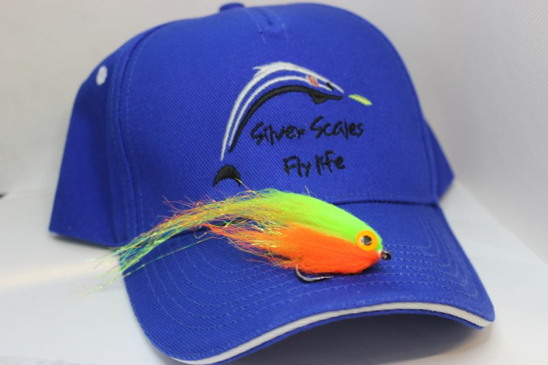 Silver Scales Fly Life Cap